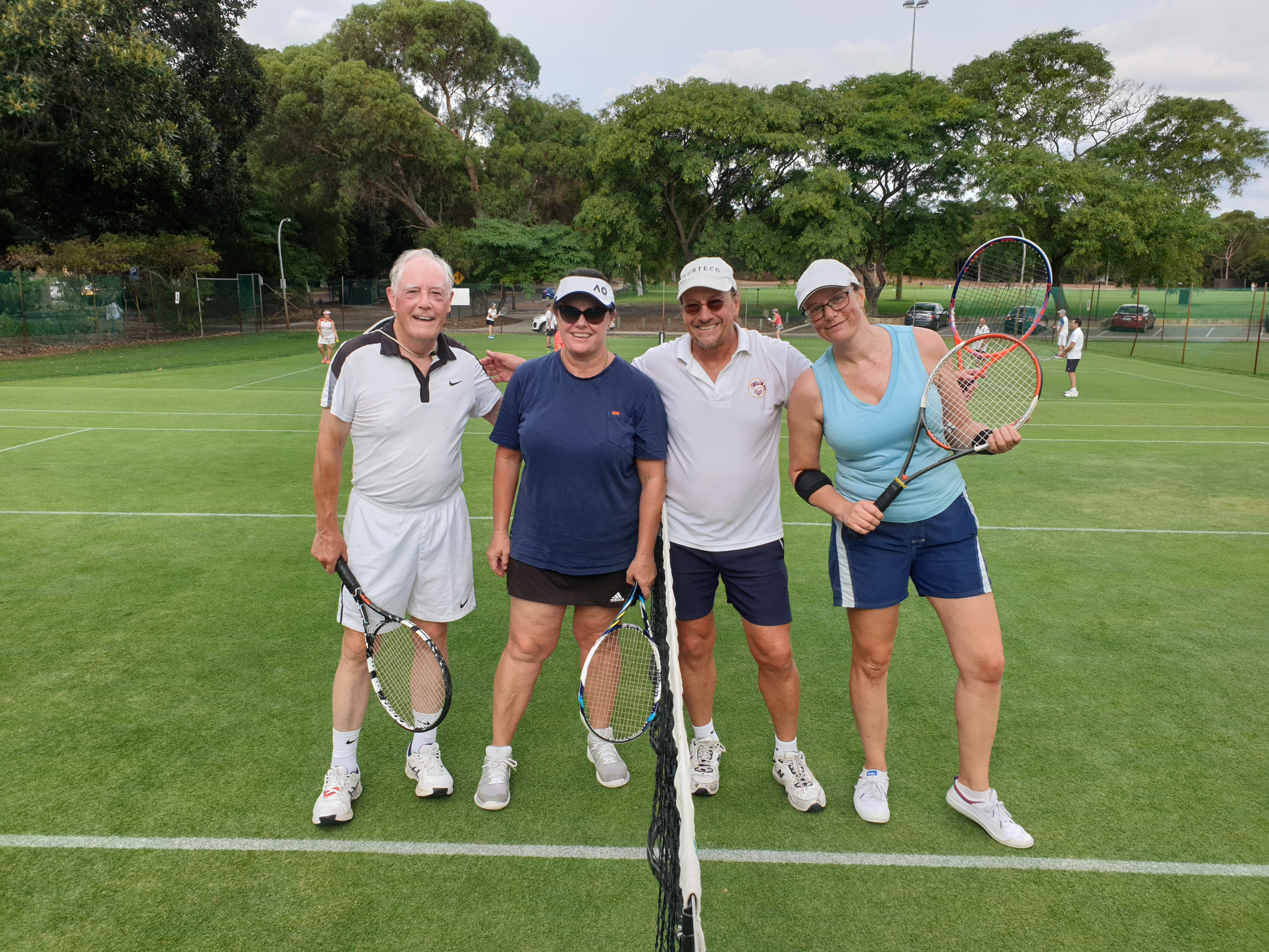 Mixed-Double Handicap  Finalist
