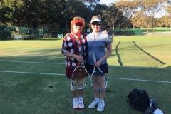 Social Division Ladies Doubles Champ