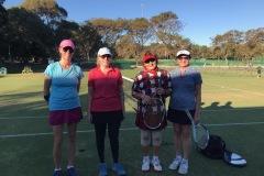 Social Division Ladies Doubles Finalist